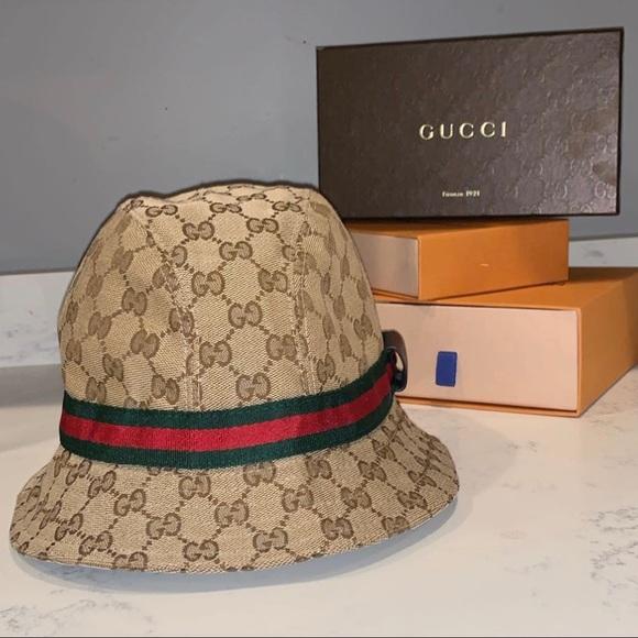 575bcfcbd GG Supreme Bucket Hat NWT